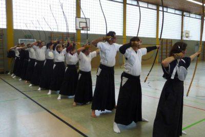 Kyudo Training in Frankfurt