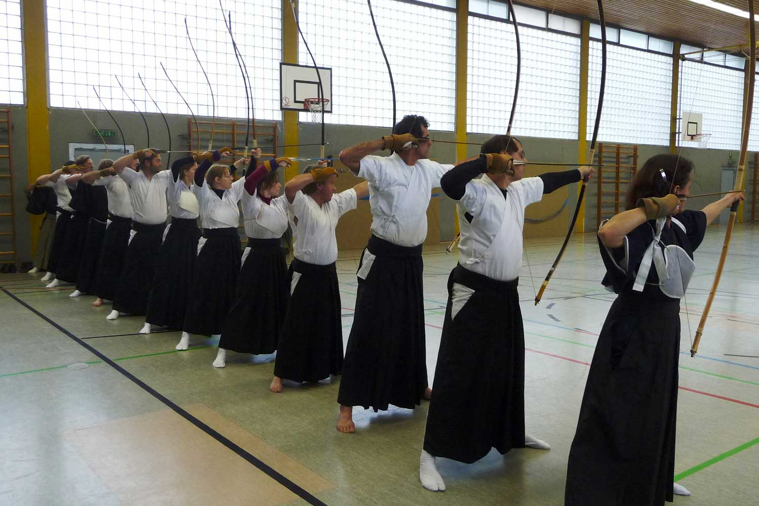 Kyudo Training in Frankfurt