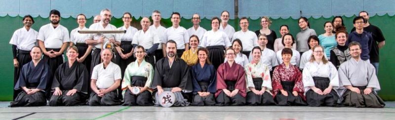 Kyudojo Frankfurt beim Neujahrsschießen 2018